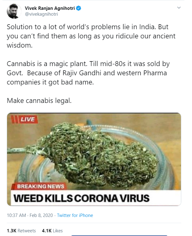 CAN CANNABIS GET RID FROM CORONA VIRUS